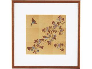 HAKUICHI/箔一 花見鳥 立体パネル/A132-02018