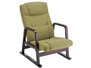 MIYATAKE/宮武製作所 【背もたれのみ取付】高座椅子(グリーン) YS-1508GR