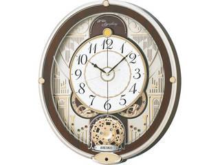 セイコー セイコー 電波からくり掛時計  RE577B