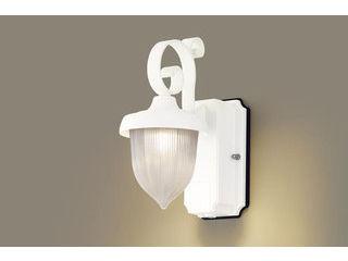 Panasonic/パナソニック LGWC80237LE1 LEDポーチライト ホワイト 【電球色】【明るさセンサ付】【壁直付型】