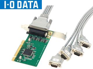 I・O DATA/アイ・オー・データ PCIバス専用 RS-232C拡張インターフェイスボード 4ポート RSA-PCI3/P4R