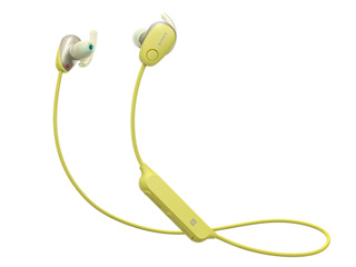 SONY/ソニー WI-SP600NY(イエロー) ワイヤレスノイズキャンセリングステレオヘッドセット