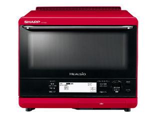 SHARP/シャープ AX-XS500-R ウォーターオーブン ヘルシオ 【過熱水蒸気コントロール機能】【30L(2段調理)】(レッド)