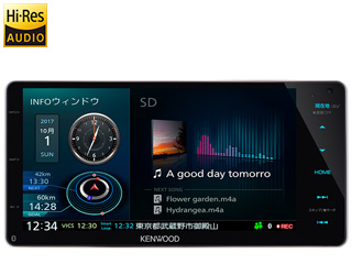 KENWOOD/ケンウッド MDV-Z905W Sai-Soku/彩速ナビゲーション 7V型 200mmワイドモデル
