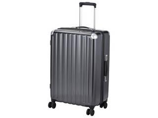 スーツケース 66L カーボンブラック ALI-6008-24 CBK