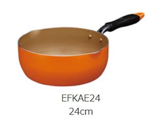 【在庫品限り!ご購入はお早めに!】 DOSHISHA/ドウシシャ EFKAE24 ガス火専用 evercook マルチパン 24cm 【商品入荷!】