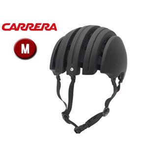 【nightsale】 CARRERA/カレラ FOLDABLE PREMIUM シティバイクヘルメット 【Mサイズ(S/M)】 (Matte Black)
