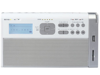 TOSHIBA/東芝 TY-RHR1-W(ホワイト) SD/USB録音ラジオ