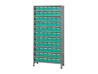 SAKAE/サカエ 【代引不可】物品棚LEK型樹脂ボックス LEK1112-66T