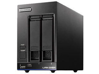 I・O DATA アイ・オー・データ 2ドライブスタンダードビジネスNAS 4TB Trend Micro NAS Security ライセンス期間5年 HDL2-X8/TM5