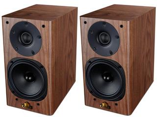 Castle Acoustics/キャッスルアコースティックス Knight 1 Walnut(ウォールナット) ブックシェルフスピーカー ペア