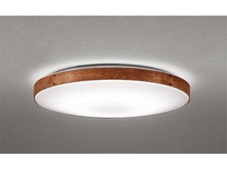 ODELIC/オーデリック SH8280LDR LEDシーリングライト ウォールナット色古味【~12畳】リモコン付
