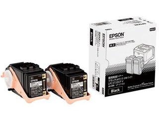 EPSON/エプソン LP-S7160シリーズ用 環境推進トナー/ブラック/Mサイズ2本パック(4700ページ×2本) LPC3T33KPV