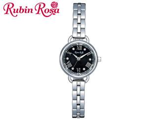 ※メーカー在庫限りの為、完売の際はご容赦下さい。 Rubin Rosa/ルビンローザ 【メーカー在庫限り!】R019SOLSBK 【ルビンローザ ソーラー腕時計】【LADYS/レディース】 【国内正規品】