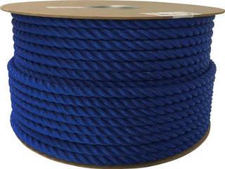 yutaka/ユタカメイク ポリエチレンロープドラム巻 12mm×100m ブルー PRE-62