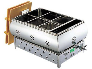EBM 【代引不可】【業務用】EBM 18-8 湯煎式 おでん鍋 尺5(45cm)13A eb-0885220
