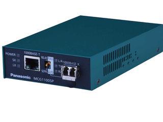 パナソニックESネットワークス メディアコンバータ 電源内蔵MCG1100SP-SX 3年先出しセンドバック保守バンドル PN61324B3 納期にお時間がかかる場合があります
