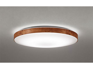 ODELIC/オーデリック SH8281LDR LEDシーリングライト ウォールナット色古味【~8畳】リモコン付