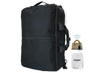 置き忘れ予防・早期発見! MAMORIO とセットになったコラボレーションバッグ。