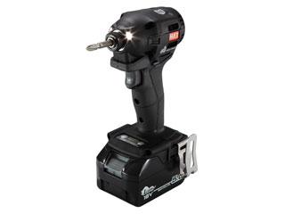 MAX/マックス 充電式インパクトドライバ(電池・充電器セット)(ブラック) PJID151KB2C/1825A