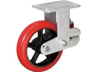 INOAC/イノアックコーポレーション バネ付き牽引車輪(ウレタン車輪タイプ 固定金具付 Φ200) KTU-200WK-YS