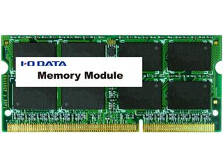 I・O DATA/アイ・オー・データ PC3L-12800(DDR3L-1600)対応ノートPC用メモリー 8GB SDY1600L-8GR