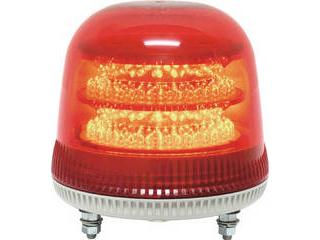 NIKKEI/日惠製作所 ニコモア VL17R型 LED回転灯 170パイ 赤 VL17M-024AR