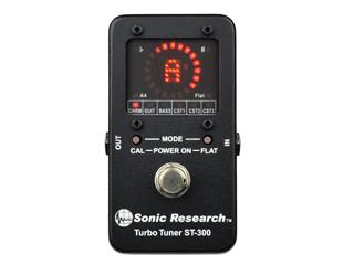 Sonic Research/ソニック・リサーチ ST-300 Turbo Tuner ST-300 高精度ストロボ・チューナー