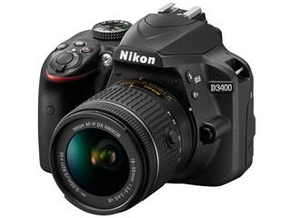 Nikon/ニコン D3400 18-55 VR レンズキット(ブラック)