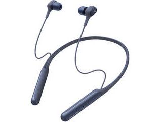 SONY/ソニー ワイヤレスノイズキャンセリングステレオヘッドセット ブルー WI-C600NL