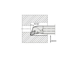 KYOCERA/京セラ 内径加工用ホルダ A20R-SDQCR11-25AE