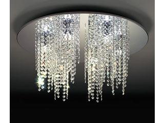 ODELIC/オーデリック OC257130BC LEDシャンデリア 6灯 クリスタルガラス【~8畳】【Bluetooth 調光・調色】※リモコン別売