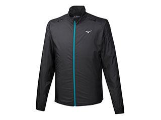 mizuno/ミズノ ブレーカーシャツ ポーチジャケット Lサイズ ブラック J2ME9520-09