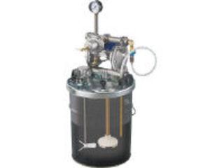 【組立・輸送等の都合で納期に1週間以上かかります】 アネスト岩田コーティングソリューションズ 【代引不可】中形ダイヤフラムペイントポンプ 20Lペール缶用タンクマウント式 DPS-902E ANEST IWATA