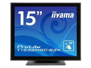 iiyama/飯山 15型液晶ディスプレイ ProLite T1532MSC-B3X(投影型静電容量方式タッチパネル) マーベルブラック