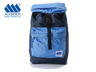 【未使用・商品新品・外装不良品】 MADDEN/メデン Marksman マークスマン カラー ブロック バックパック リュック (NAVY/ELECTRIC BLUE) 【18L】 【made in USA】【Colorado】
