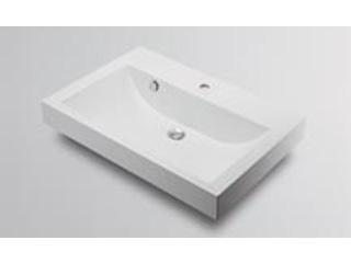 KAKUDAI/カクダイ 493-070-750 角型洗面器 (1ホール)