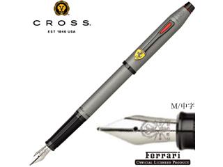 CROSS/クロス 万年筆 グレー M/中字 センチュリーII フォー スクーデリア・フェラーリ FR0086-129MS