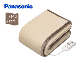 Panasonic/パナソニック DB-RM3M-C 電気かけしき毛布【シングルMサイズ】ベージュ【約188×137cm】