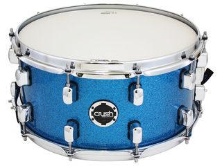 CRUSH/クラッシュ S3MS14X7 608 スネアドラム(Deep Blue Sparkle)