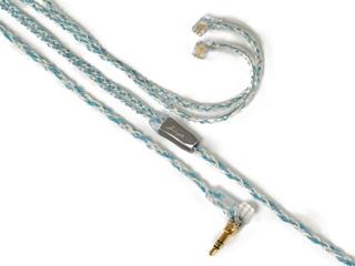 Luminox Audio/ルミノクスオーディオ LNA-BOB-UQ2P-35L イヤホン リケーブル ブースターブルー qdc 2pin 3.5mm(L字) Luminox Audio Booster Blue LNA Booster Blue qdc-3.5mmL