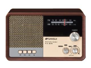 SANSUI/サンスイ 【台数限定】MSR-1 Bluetooth ラジオスピーカー