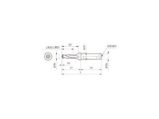 KYOCERA/京セラ ドリル用ホルダ SF20-DRC160M-3