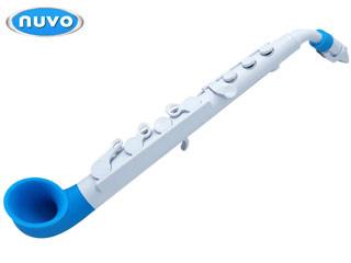NUVO/ヌーボ N510JWBL 【White/Blue】 ヌーボ プラスチック製 サックス jSax 【NUVOSAX】