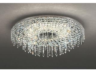 ODELIC/オーデリック OC257133BC LEDシャンデリア クリスタルガラス【~12畳】【Bluetooth 調光・調色】※遠赤外線リモコン付属