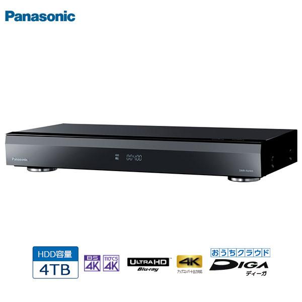 Panasonic パナソニック DMR-4CW400 4TB 4Kチューナー内蔵ブルーレイディスクレコーダー ディーガ/4KDIGA