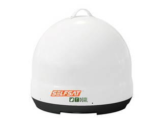 INBYTE INBYTE BSデジタル、BS/110°CS、地上デジタル対応オールインワンアンテナSELFSAT DUAL J06D