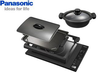 【nightsale】 Panasonic/パナソニック ■ KZ-HP2100  IHホットプレート(ブラック)