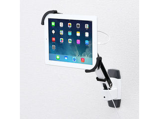サンワサプライ 7~11インチ対応iPad・タブレット用アーム(壁面用・1本アーム) CR-LATAB10