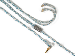 Luminox Audio/ルミノクスオーディオ LNA-BOB-UQ2P-25L イヤホン リケーブル ブースターブルー qdc 2pin 2.5mm(L字) Luminox Audio Booster Blue LNA Booster Blue qdc-2.5mmL